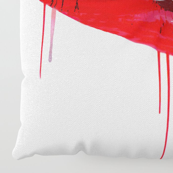 Lips Floor Pillow
