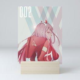 Zero Two v.2 Mini Art Print
