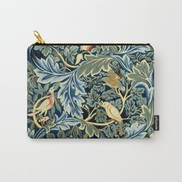 """William Morris """"Birds and Acanthus"""" Carry-All Pouch"""