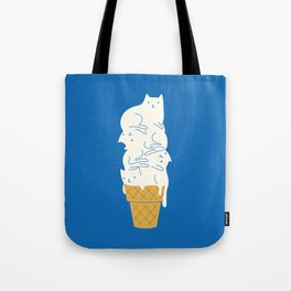 Cats Ice Cream Tote Bag