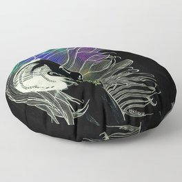 Rock Chic Neons  Floor Pillow