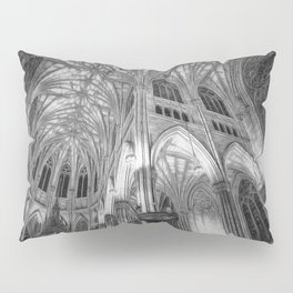 St Patrick's Cathedral New York Art Pillow Sham