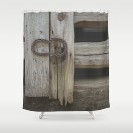 Rustic Country Americana Shower Curtain