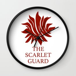 The Scarlet Guard Red Queen Wall Clock