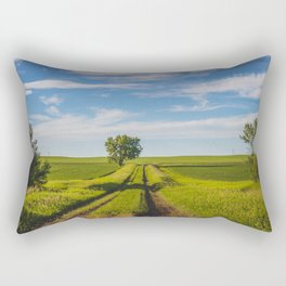Prairie Backroads 2 Rectangular Pillow