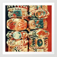 Western Bracelet Collection Art Print