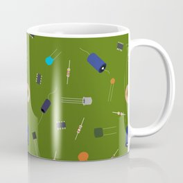 Circuit Elements - Green Coffee Mug