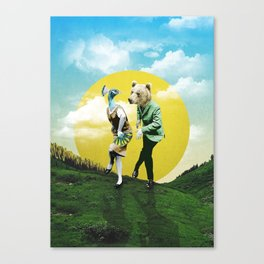 Bear With Me Canvas Print