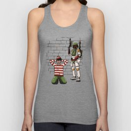 Arrest of Wally Unisex Tank Top