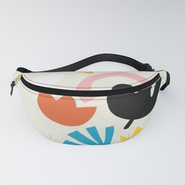 Floral Explosion Fanny Pack