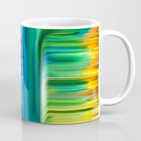 waterfall Mugs featuring Waterfall by Bruce Stanfield