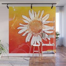 Sunflower Sunshine Wall Mural