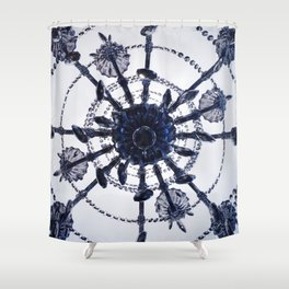 Chandelier Mandala Shower Curtain