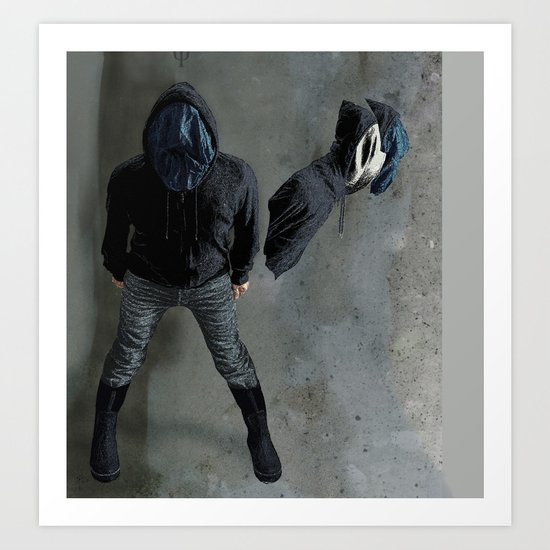 String Theory: Collapsing Wavefunction, Sixth Tangible Art Print