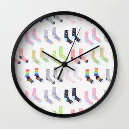 Socks Wall Clock