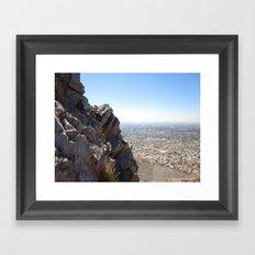 Mountainside Framed Art Print