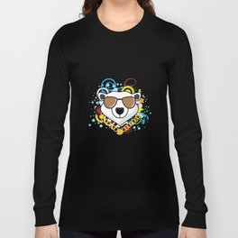 Hip-Hop Polar Bear Long Sleeve T-shirt