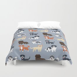CANADIAN DOGS Duvet Cover