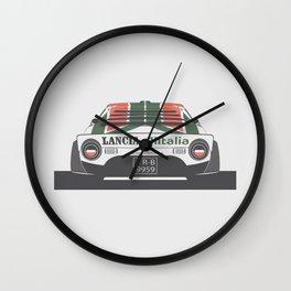 Lancia Stratos Rear Wall Clock