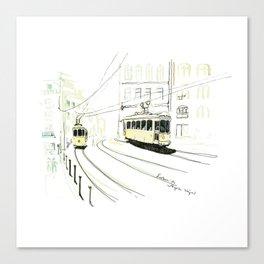 Lisbon Aquarelle No.9 Canvas Print