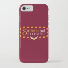 Snitches Get Stitches Slim Case iPhone 7