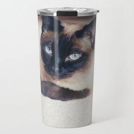 Siamese Cat Travel Mug