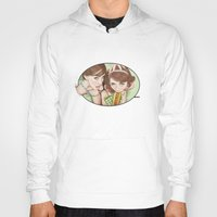 movies Hoodies featuring Life's a Picnic, Bring Your Friend by keith p. rein