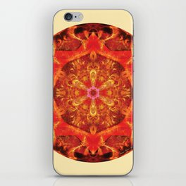 Mandalas from the Heart of Transformation 7 iPhone Skin