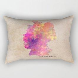 Germany map Rectangular Pillow