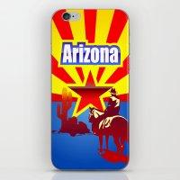 arizona iPhone & iPod Skins featuring Arizona by Anfelmo