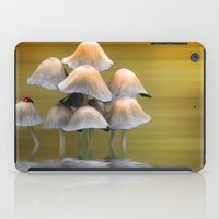 mushrooms iPad Cases featuring Mushrooms by Shalisa Photography