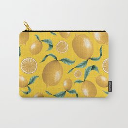 Sorrento Lemons Carry-All Pouch