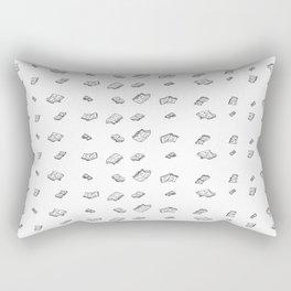 flying books Rectangular Pillow