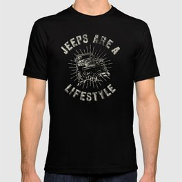 Big Bleu Design Jeep Life part 2 T-shirt