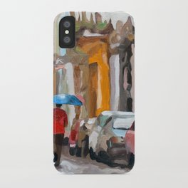 Havana Rain iPhone Case
