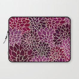 Floral Abstract 12 Laptop Sleeve