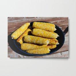 Sweet Corn Metal Print