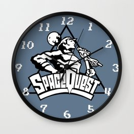 Space Quest Wall Clock