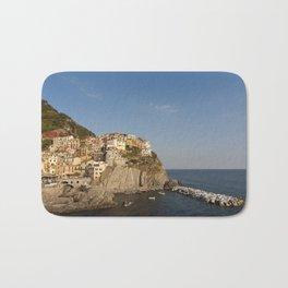 Village of Manarola in Cinque Terre, Italy Bath Mat