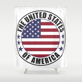 The United States of America - USA Shower Curtain