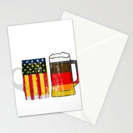 Prost Cheers German American Oktoberfest  Stationery Cards