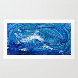 Poseidon Uprising Art Print