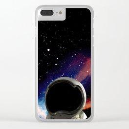 UNIVERSE II Clear iPhone Case