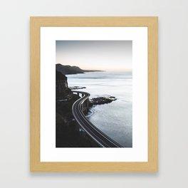 Ocean Coast Trip 3 Framed Art Print