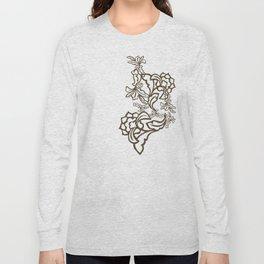 Romantic Modern Ornaments Long Sleeve T-shirt