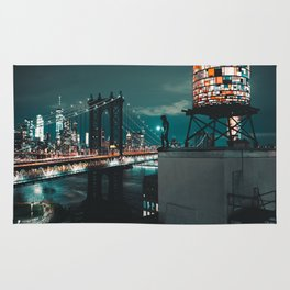 The Water Tower New York City (Color) Rug