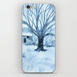 In The Coolness Of The Moon Light iPhone Skin