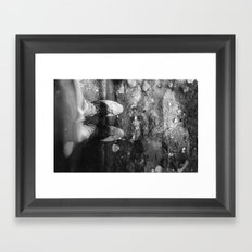 Wine Soaked Feet Framed Art Print