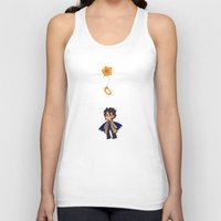 halo Tank Tops featuring halo by noCek