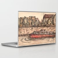 budapest Laptop & iPad Skins featuring Budapest Art by Daria Kotyk